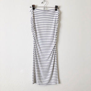 Victoria's Secret White Strapless Comfy Dress
